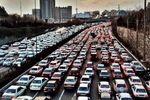 فیلم: افزایش ۳۰ درصدی ترافیک در تهران