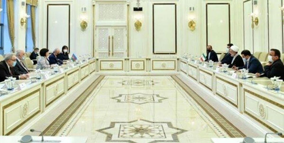 تاکید ایران و آذربایجان بر توسعه و تعمیق روابط جامع دو کشور