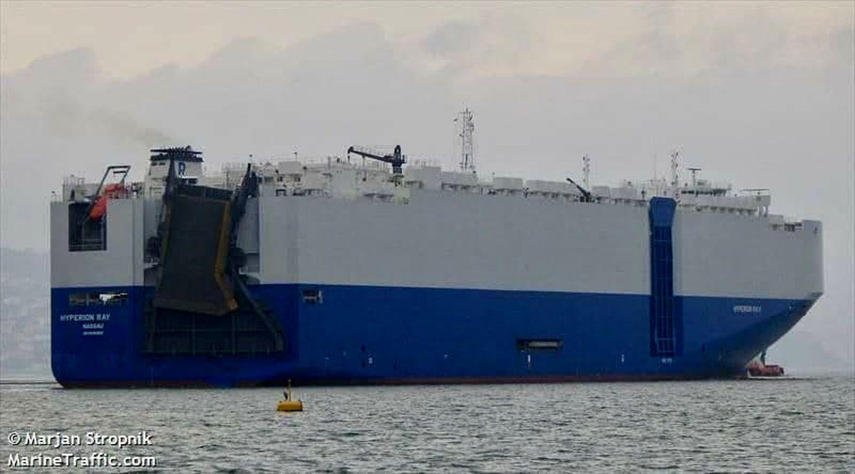 حمله به کشتی اسرائیلی در دریای عمان