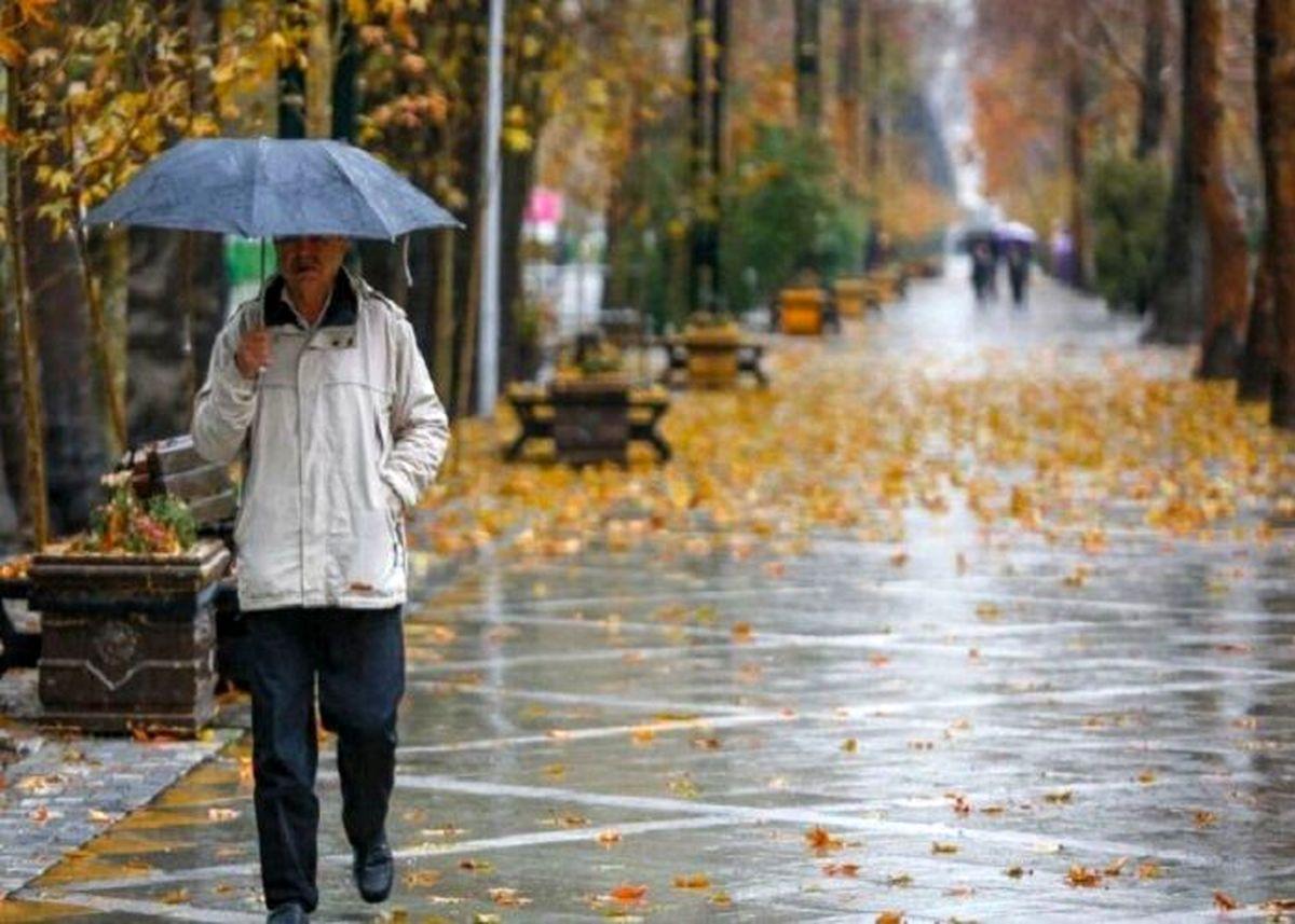 بارش برف و باران در نقاط مختلف کشور