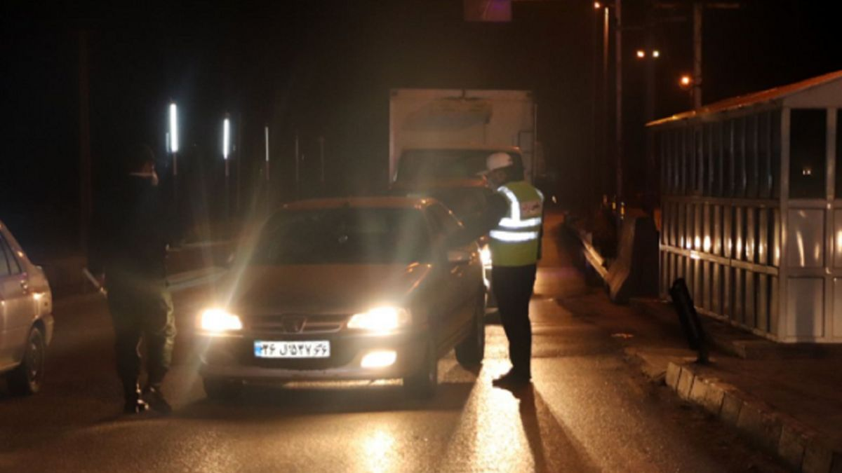 ساعت اجرای اعمال جریمه محدودیت تردد شبانه تغییر کرد