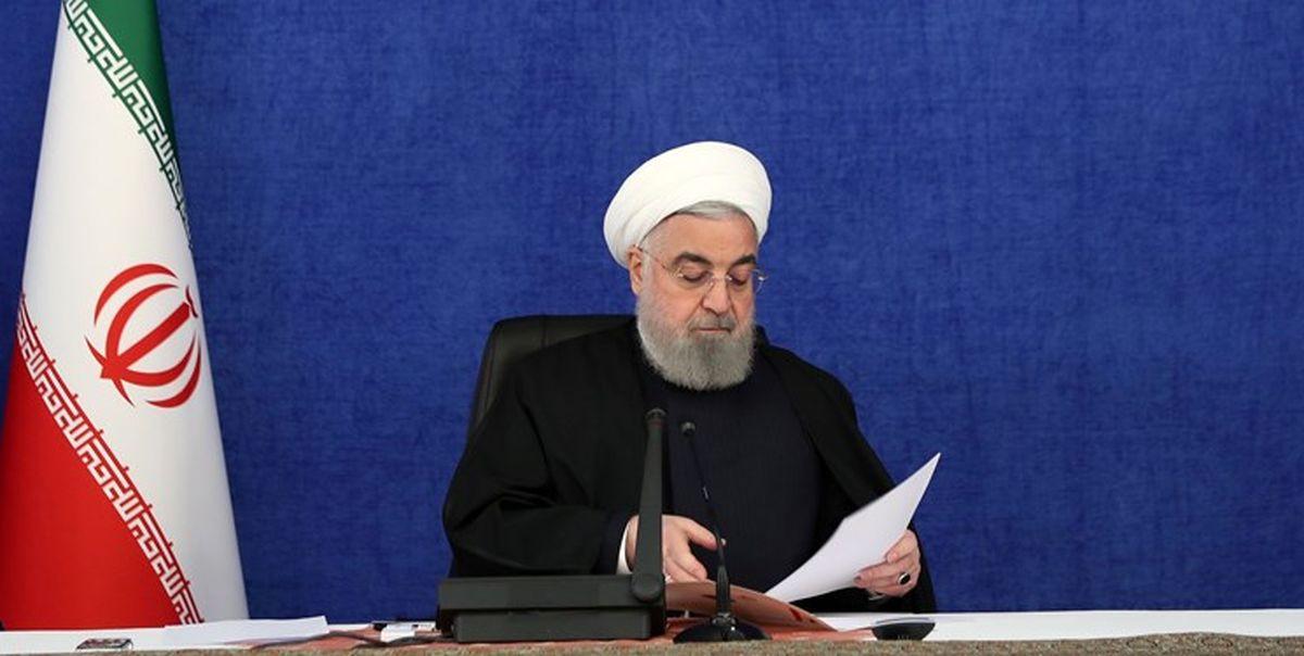 بررسی طرح ملی انتقال آب از خلیج فارس به مرکز فلات ایران با حضور روحانی