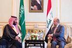 گفتگوی تلفنی بن سلمان با رئیس جمهور عراق