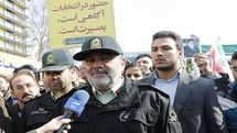 مردم همیشه مدافع نظام و انقلاب هستند/ تلاش پلیس در راستای برگزاری هرچه باشکوه تر راهپیمایی