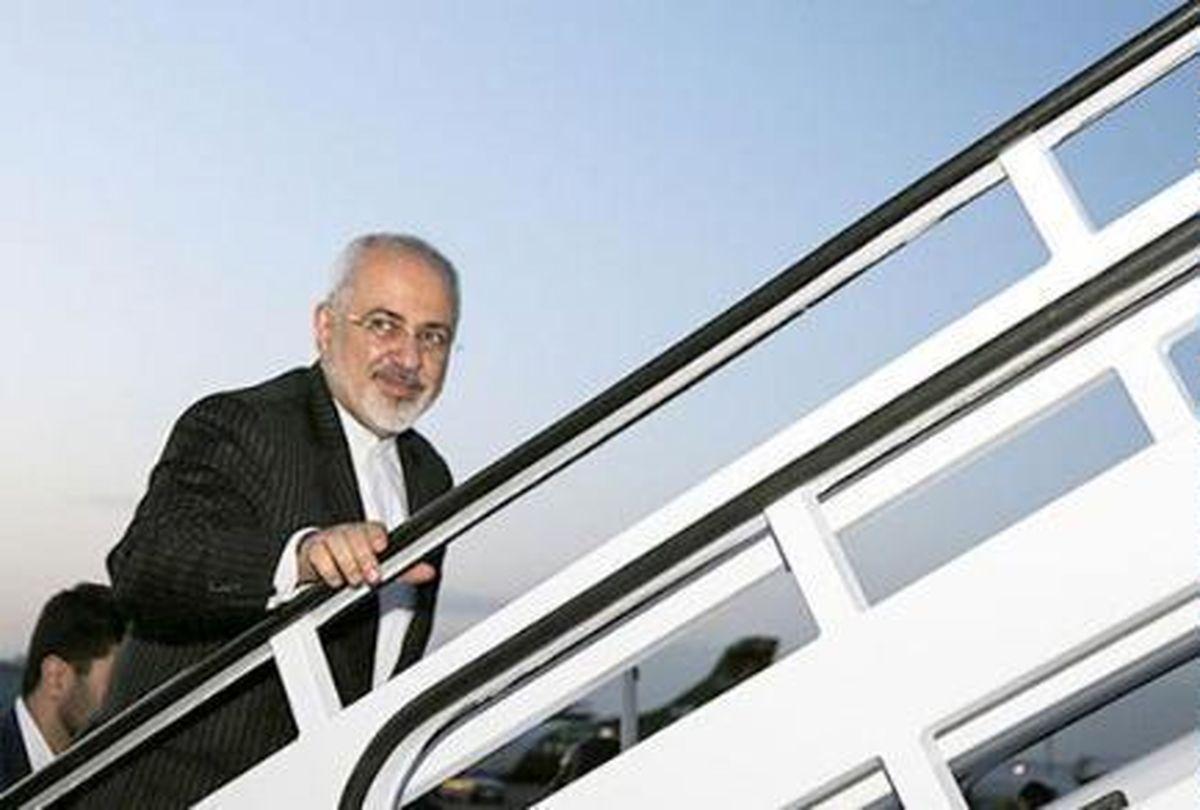 ظریف تهران را به مقصد اسلو ترک کرد