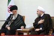 دیدار رئیسجمهور و اعضای هیأت دولت با رهبر معظم انقلاب