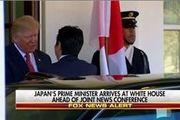 ترامپ در کاخ سفید با نخست وزیر ژاپن دیدار کرد