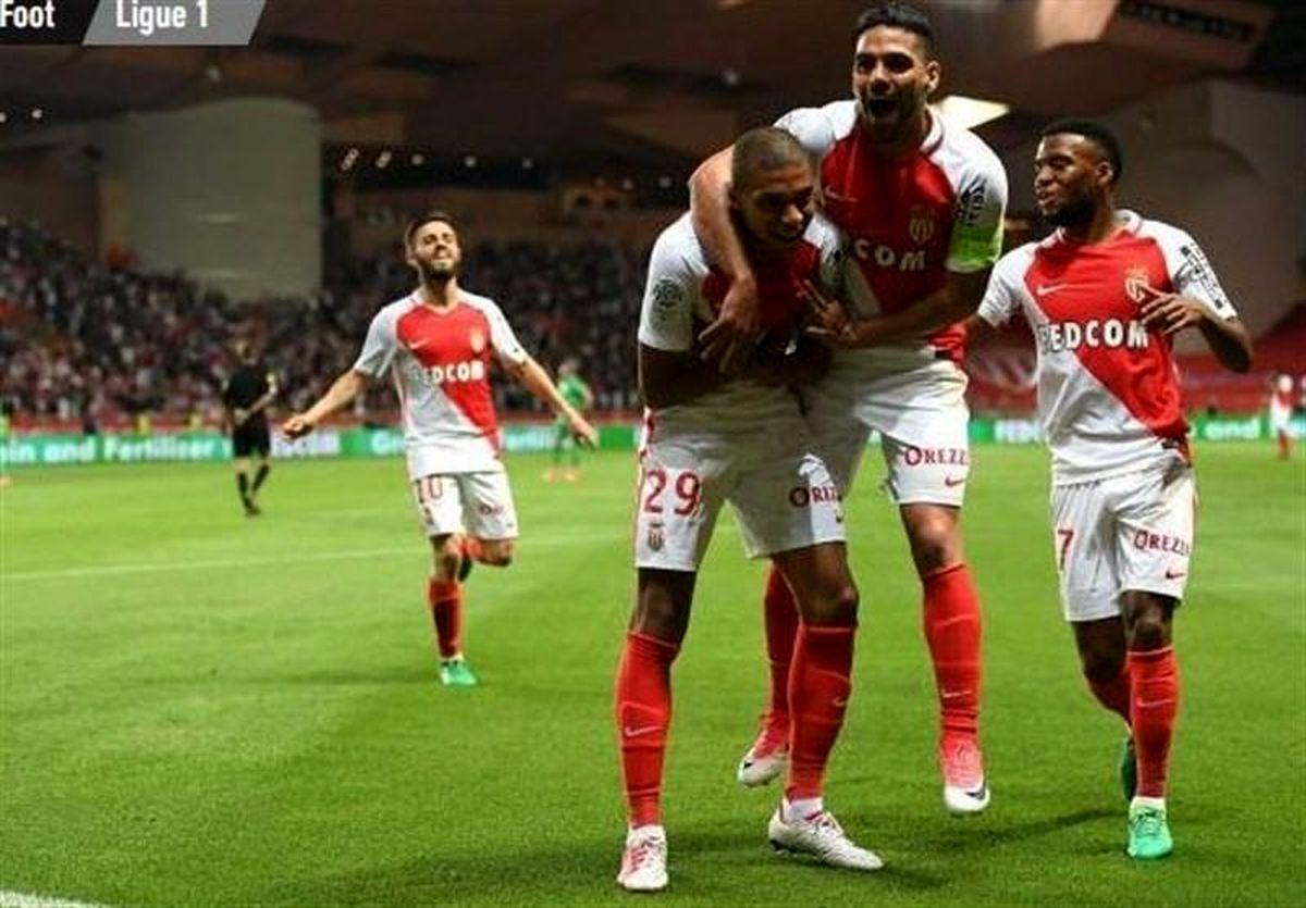 موناکو با پیروزی قهرمان زودهنگام شد