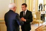 ظریف: دیدار با ماکرون بسیار خوب بود/ پیام آقای روحانی به همتای فرانسوی ارائه شد