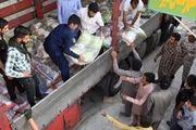 توزیع بیش از ۱۱۰۰ بسته غذایی در مناطق محروم