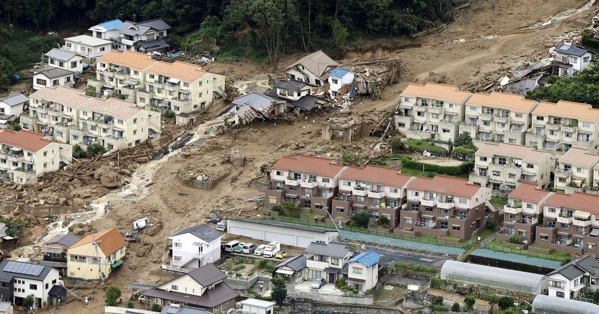 اگر این میزان باران در ژاپن ببارد چه مىشود؟
