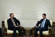 تأکید مجدد بشار اسد بر حمایت سوریه از ایران