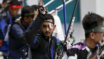 صعود ۲ پلهای صداقت در تفنگ بادی و سقوط یک پلهای احمدی در تفنگ سه وضعیت