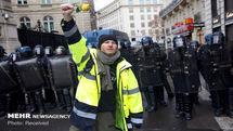 آغاز یازدهمین هفته از تظاهرات فرانسه/ برگزاری شب زرد