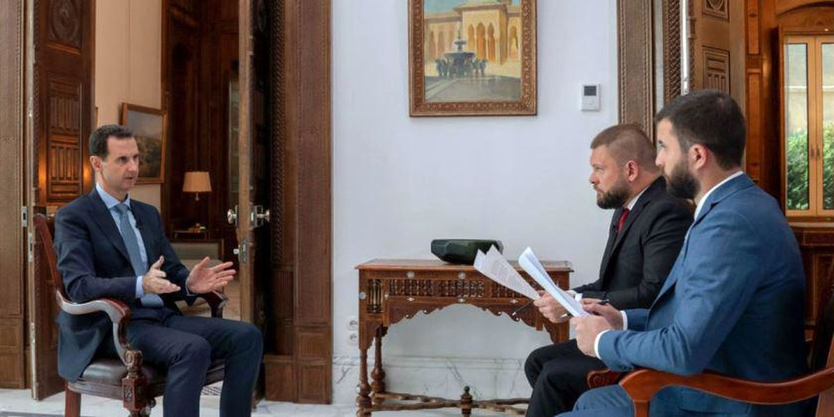 اسد: قانون اساسی متن مقدس نیست/ شکایتهایمان از نفت دزدی آمریکا در سازمان ملل بایگانی میشود