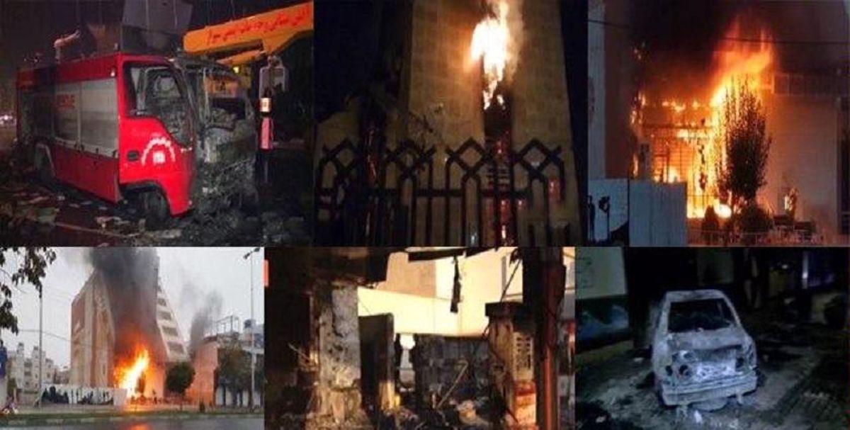 عیادت امامجمعه شیراز از فرمانده سپاه که در آشوبهای خیابانی مجروح شد
