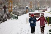 برف مدارس نقده را تعطیل کرد