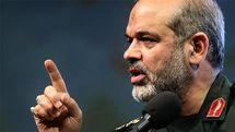 سردار وحیدی: ترامپ و وزیر دفاعش جنایتکار جنگی است