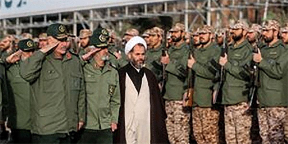 عکس: بازگشت سردار فضلی به دانشگاه امام حسین(ع)