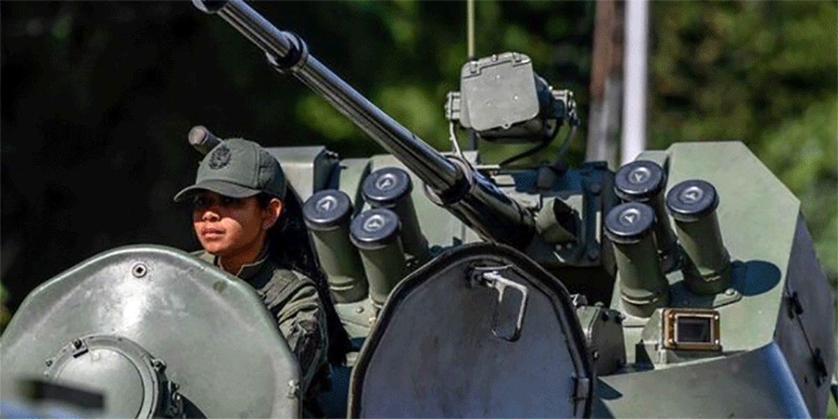 ارتش ونزوئلا در حالت آماده باش