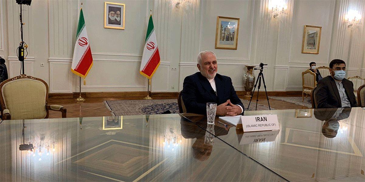 ظریف: حتی یک جلسه برای نکوهش آمریکا تشکیل نشد
