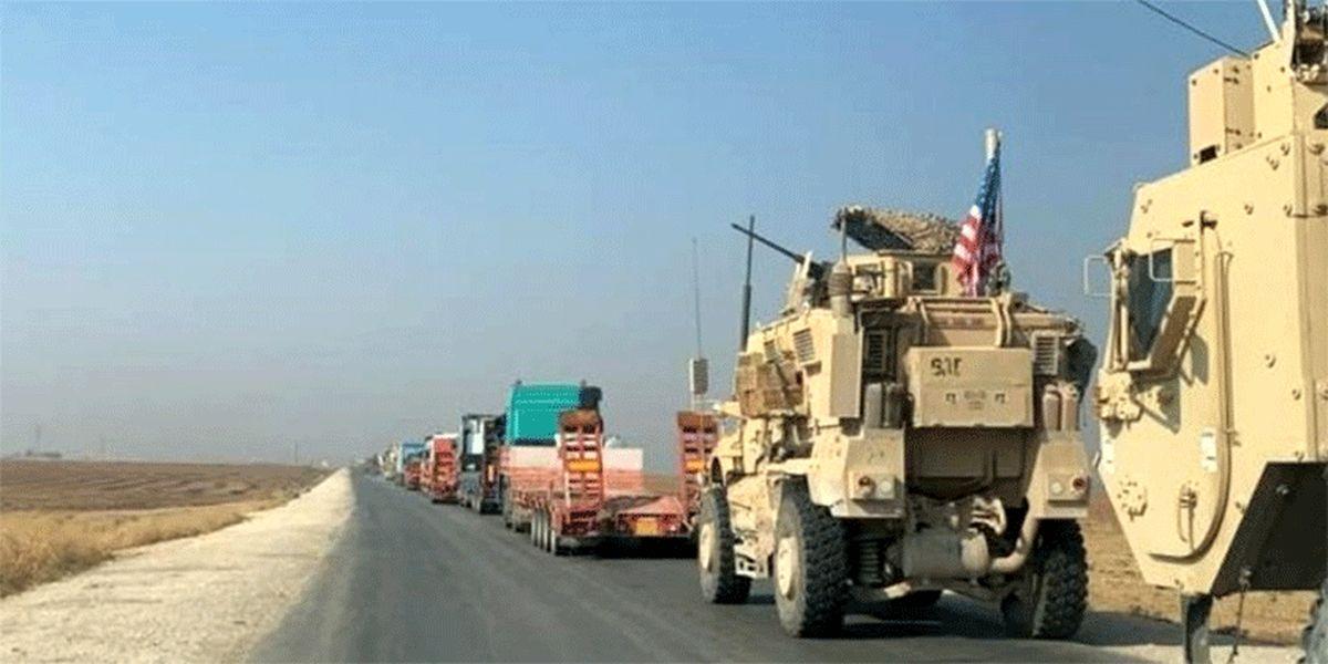 قاچاق نفت سوریه به عراق توسط آمریکا