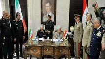اهمیت توافقنامه دفاعی ایران و سوریه در چیست؟
