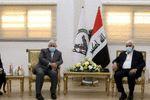 محمدجواد ظریف و فالح فیاض با هم دیدار کردند