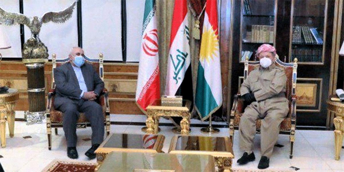 مسعود بارزانی: اقلیم کردستان هرگز محلی برای تهدیدی منافع و امنیت ایران نخواهد بود