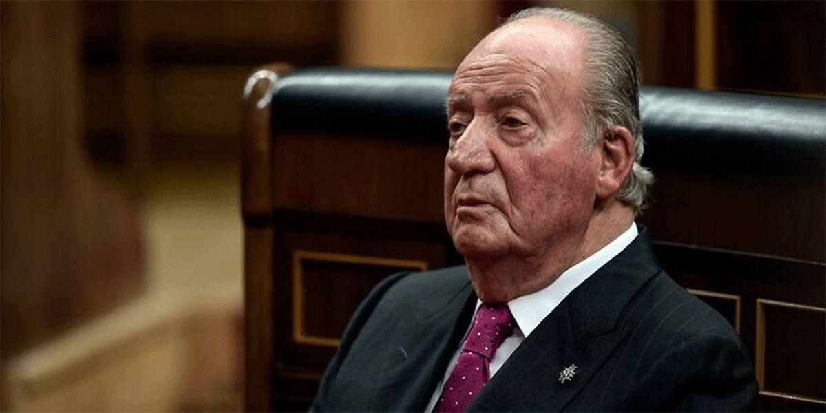پادشاه سابق اسپانیا، کشورش را ترک می کند