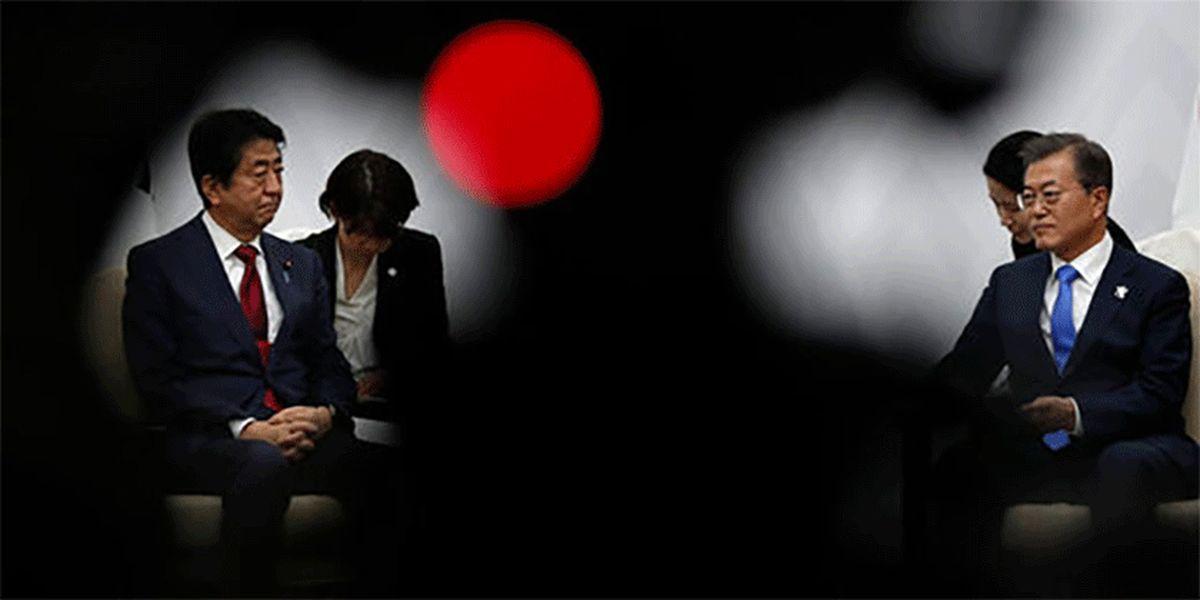 زخم های جراحت های جنگ کره و ژاپن سر باز کرد