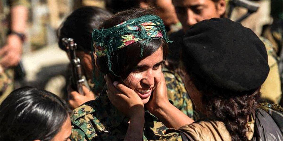 عناصر کُرد سوریه از میان دختربچهها سرباز جذب میکنند