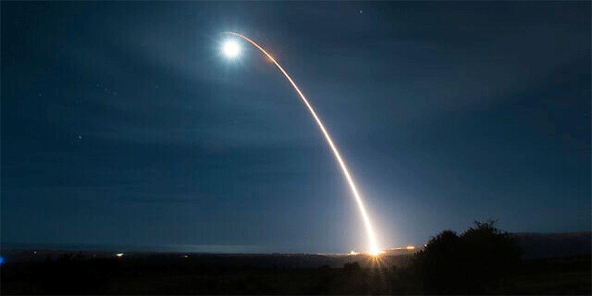 آمریکا یک موشک قارهپیما آزمایش کرد