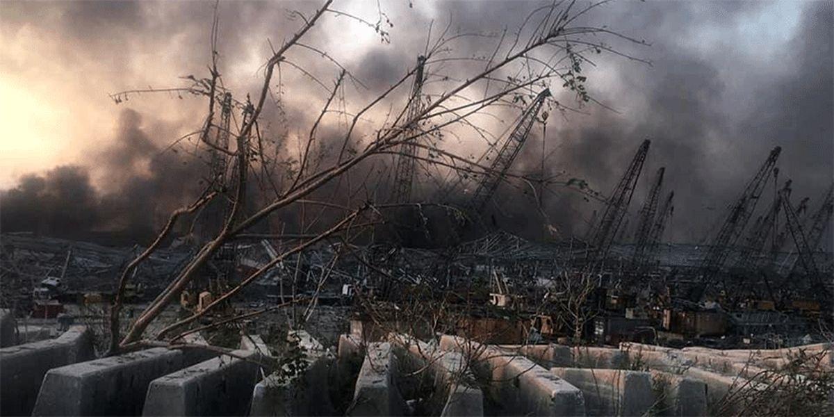 وزرات کشور: آماده امدادرسانی به آسیبدیدگان انفجار بیروت هستیم