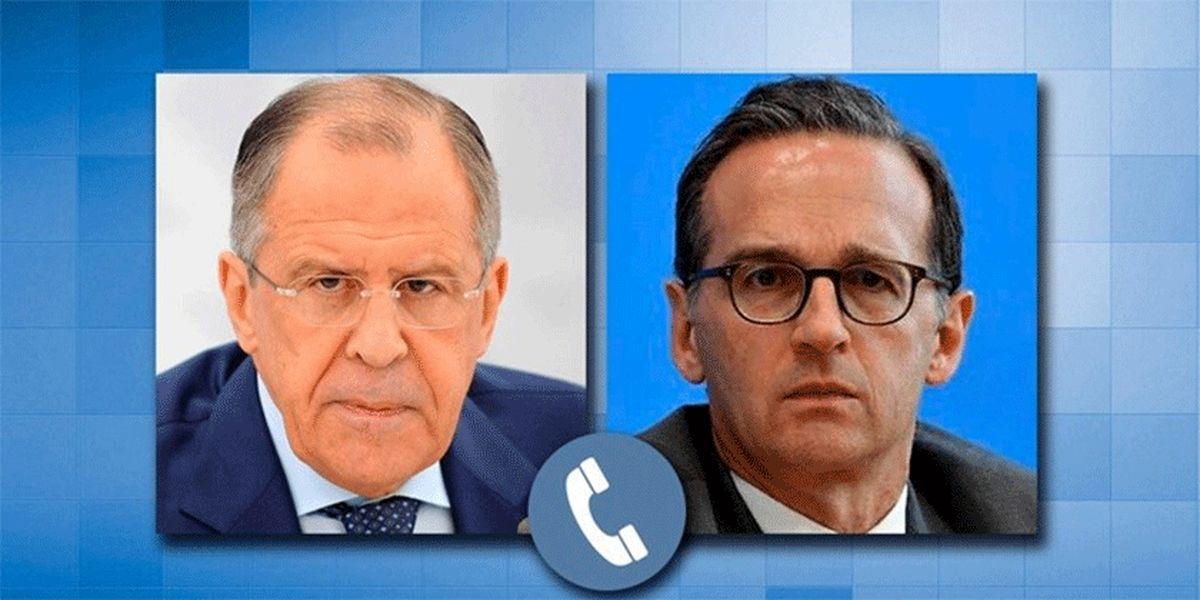 گفتوگوی وزرای خارجه روسیه و آلمان درباره پیشنهاد پوتین