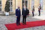 دیدار مصطفی الکاظمی با نخستوزیر فرانسه