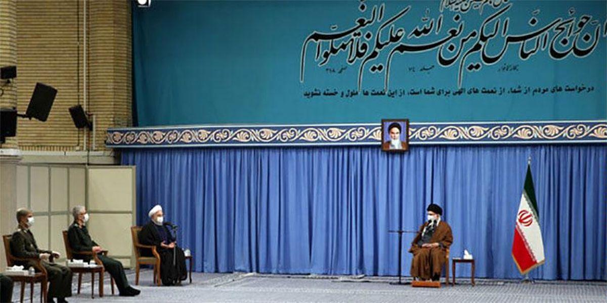 عکس: جلسه ستاد ملی مقابله با کرونا در حضور رهبر معظم انقلاب
