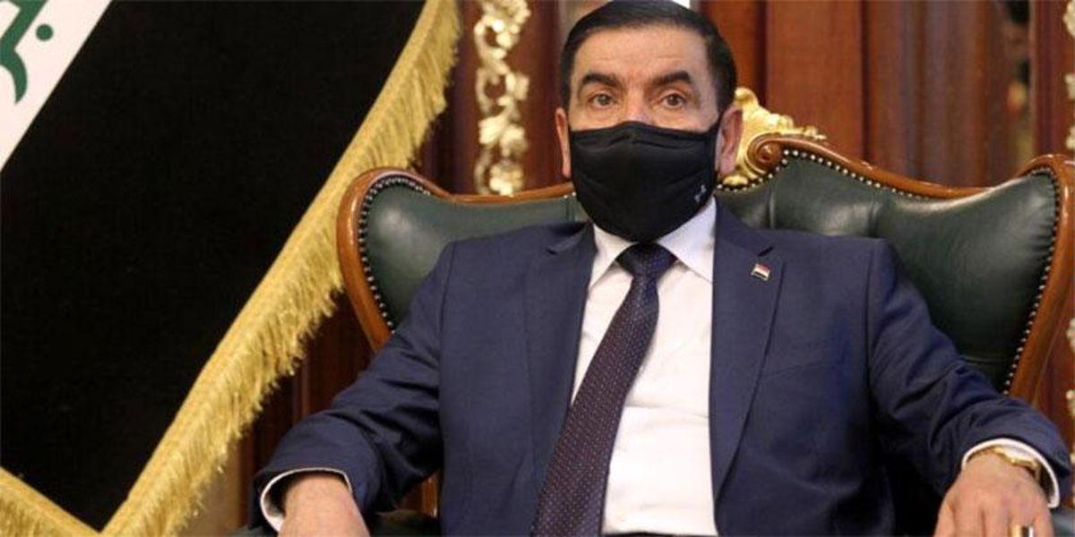 وزیر دفاع عراق وارد تهران شد