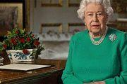 عکس: ملکه انگلیس برای اولین بار با ماسک دیده شد