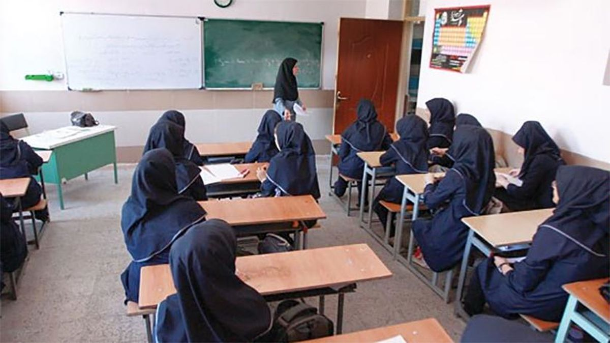 تصویر غمانگیز از تدریس معلم ایرانی