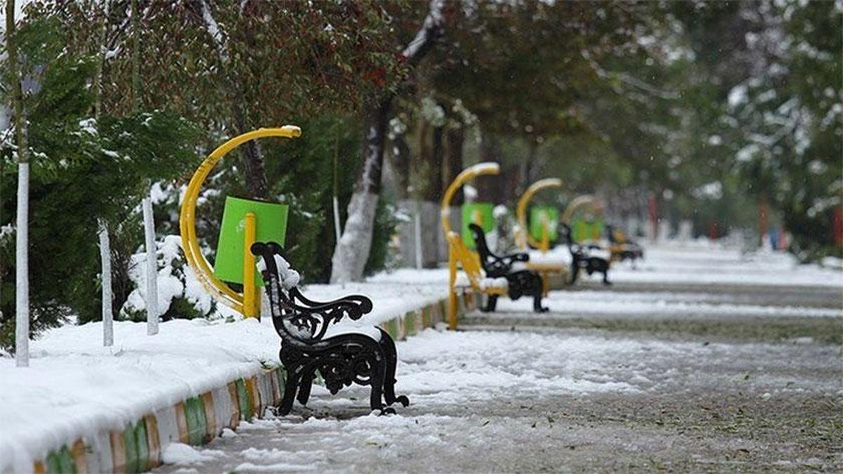برف و باران در ۲۹ استان