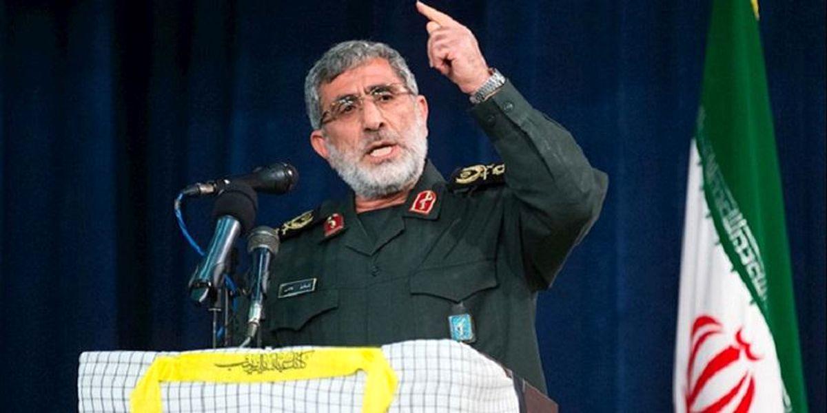 نظر صریح سردار قاآنی درباره مذاکره ایران با آمریکا