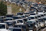 عکس: ترافیک سنگین در پیست آبعلی