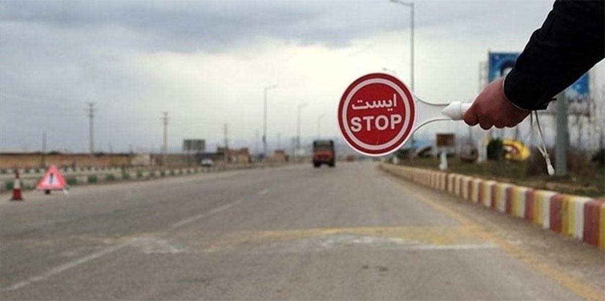 ممانعت از ورود بیش از ۶۰۰۰ خودرو به محورهای شمال