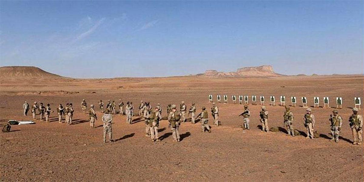 تمرینات نظامی مشترک عربستان و آمریکا در عربستان