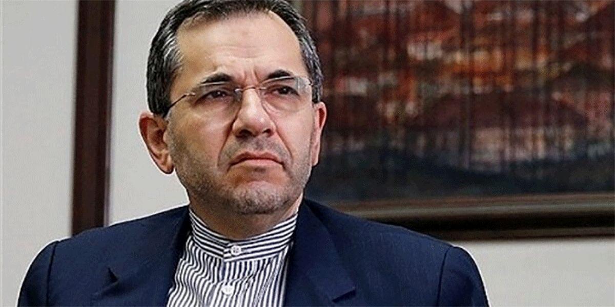 تخت روانچی: ایران استفاده از سلاح شیمیایی را محکوم میکند