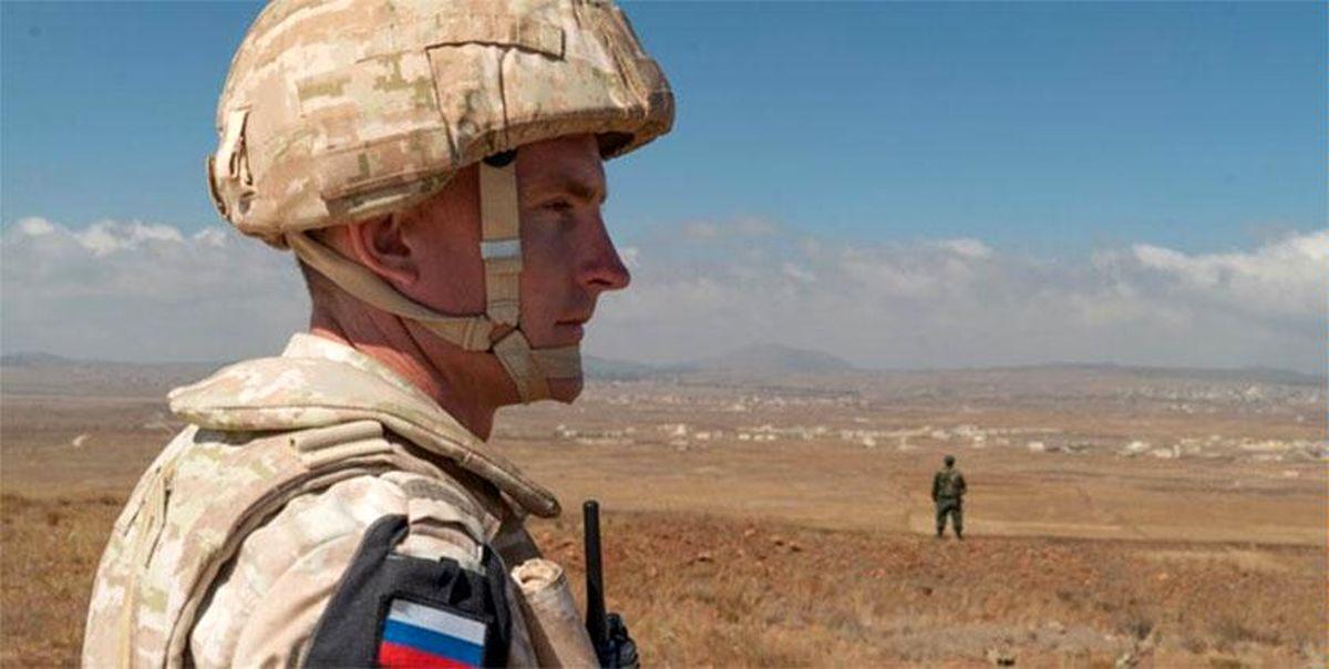 همکاری نظامی روسیه و سوریه در منطقه جولان