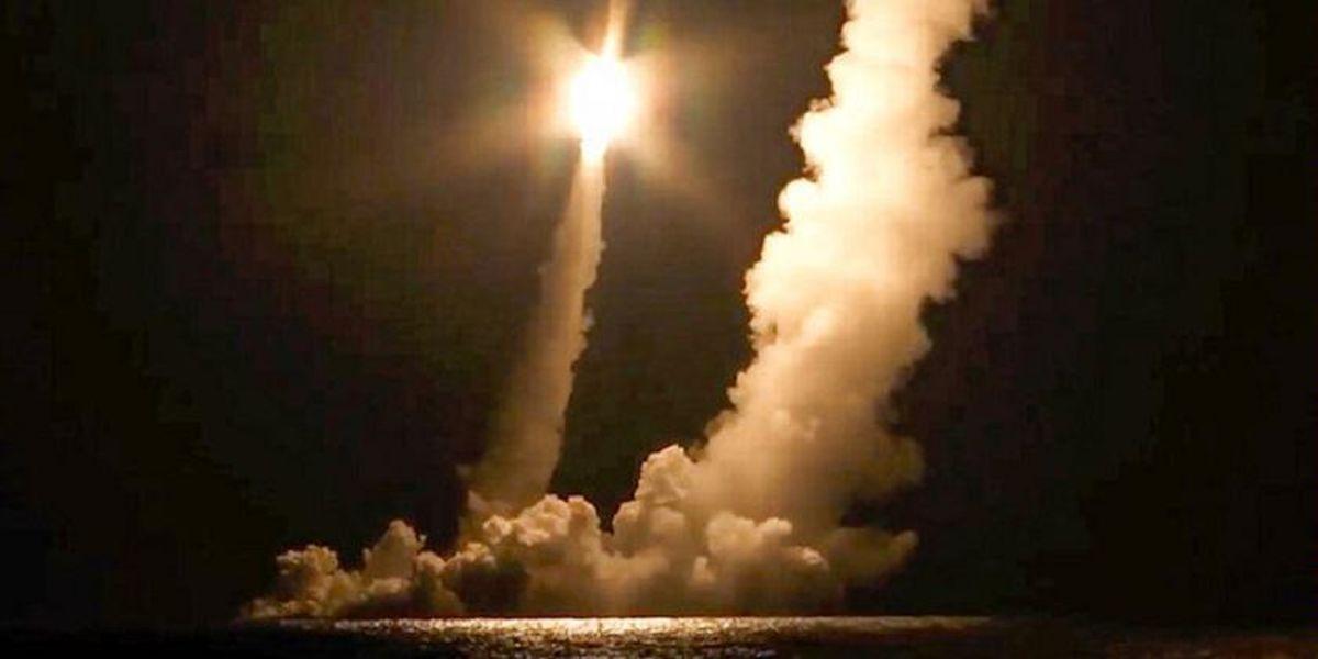 روسیه ۴ موشک قاره پیما شلیک کرد