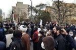 عکس: تجمع مردم تبریز در اعتراض به سخنان اردوغان
