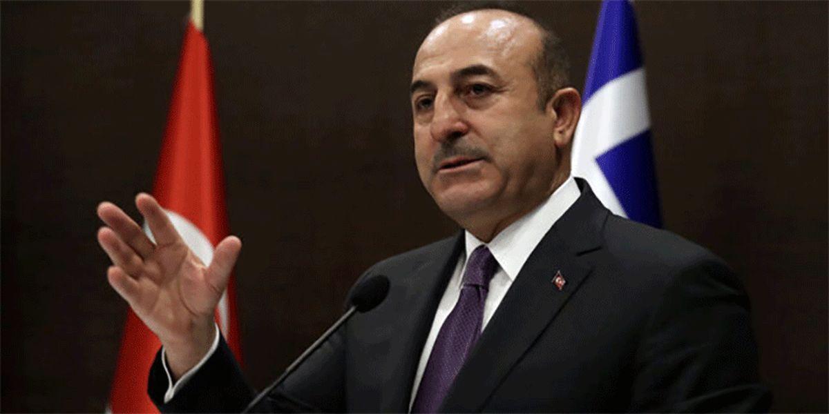 وزیر خارجه ترکیه سخنان اردوغان را ماله کشید